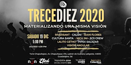 TRECEDIEZ 2020 boletos