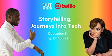 Out in Tech | Storytelling: Journeys to Tech tickets
