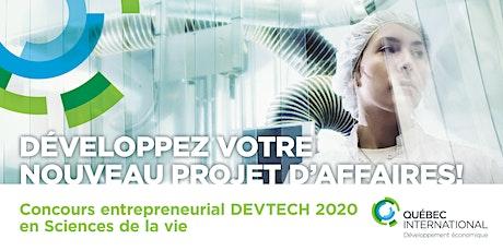 DEVTECH - Sciences de la Vie - 2020 - candidats tickets