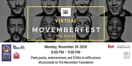 "Movemberfest Virtual ""Pig Roast"" tickets"