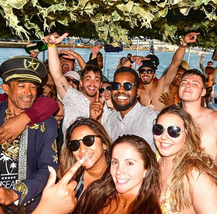 THE BIGGEST PARTY BOAT MIAMI!! image