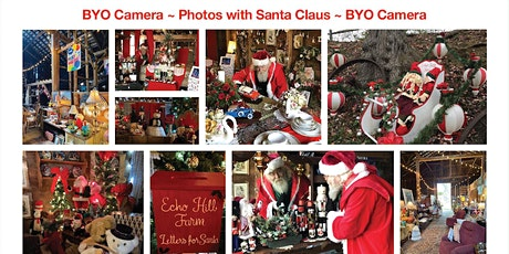 Photos with Santa at Echo Hill Farm *BYO Camera *Reserved Time  Span tickets