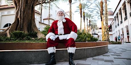Photos with Santa at Lululemon tickets