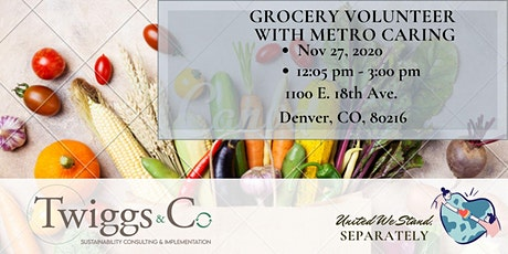 Afternoon- Metro Caring Grocery Volunteer tickets