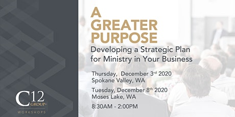 A Greater Purpose Workshop December 8, 2020 tickets