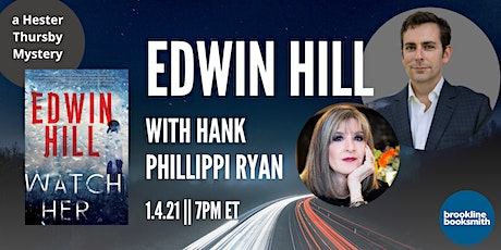 Edwin Hill with Hank Phillippi Ryan: Watch Her tickets