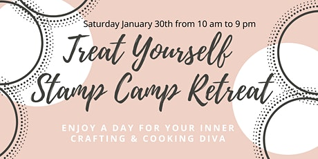 Treat Yourself Stamp Retreat tickets
