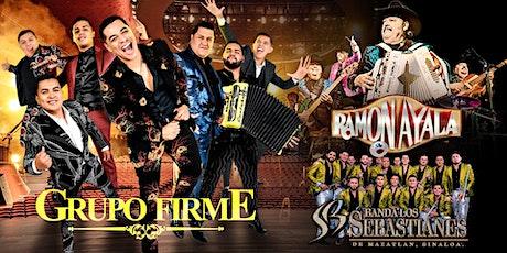 Grupo Firme, Ramon Ayala, y Banda Los Sebastianes tickets