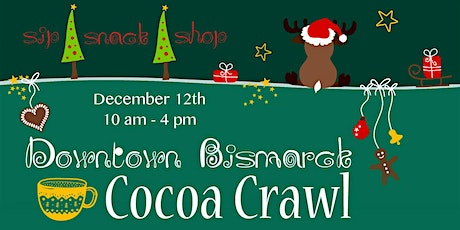 Downtown Bismarck Cocoa Crawl 2020 tickets