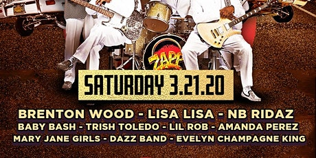 ZAPP, Brenton Wood, Lisa Lisa, NB Ridaz, Baby Bash, Lil Rob & more tickets