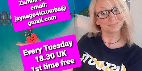 Zumba Zoom Online - Free if it's your 1st time with us! tickets
