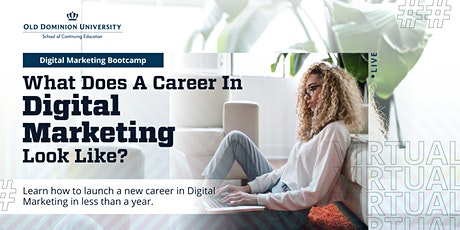What Does  a Career In Digital Marketing Look Like? tickets