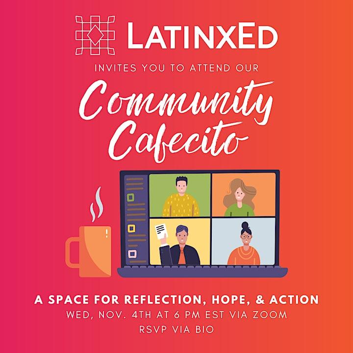 Post-Election Community Cafecito image