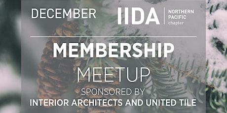 IIDA NPC // New Member Virtual Meetup - December tickets