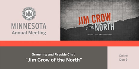 """""""Jim Crow of the North"""" Screening and Fireside Chat tickets"""