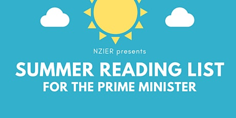 NZIER 2020 Summer Reading List for the Prime Minister tickets