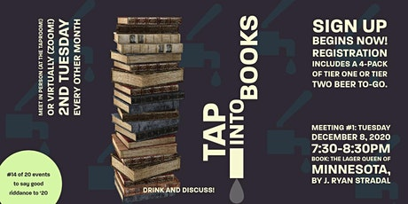 Tap Into Books (#14 of 20 events to say good riddance to '20) tickets