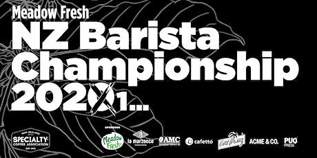 Meadow Fresh NZ Barista Championship 2021 tickets