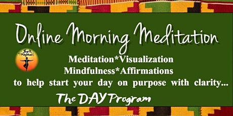 November Online  Weekly Morning Meditation tickets