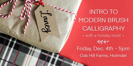 Holiday Calligraphy Workshop tickets