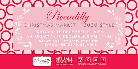 Piccadilly Christmas Market  2020 Style tickets