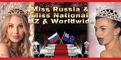 Online Miss Russia & Miss National NZ tickets