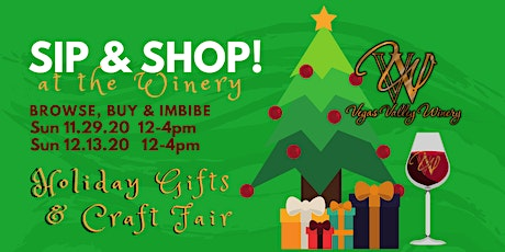 Holiday Sip & Shop at the Winery tickets