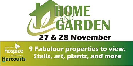 Harcourts Hospice Home and Garden Tour 2020 tickets
