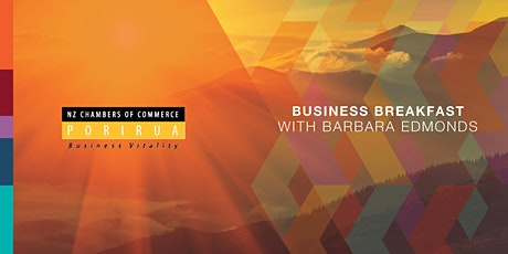 Business Breakfast with Barbara Edmonds tickets