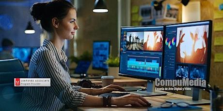 Curso de 4 Días Edición de Vídeo en Adobe Premier Pro en Line en Vivo tickets