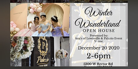 Winter Wonderland Open House tickets