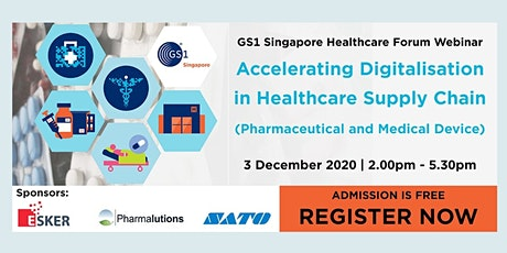 Webinar:  Accelerating Digitisation in Healthcare Supply Chain tickets