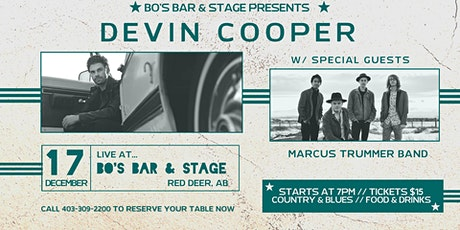 DEVIN COOPER w/ special guests MARCUS TRUMMER BAND tickets