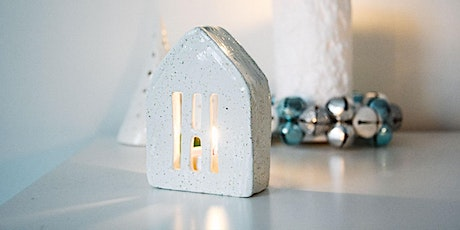 Clay  Workshop -  Decorative Tea Light Holder House tickets