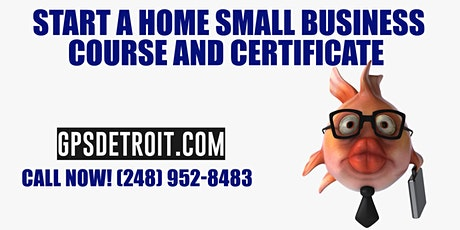 Start A Small Business Course and Certificate tickets