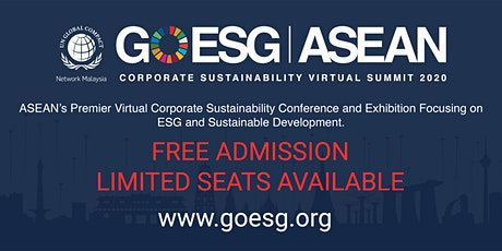 GOESG ASEAN: Corporate Sustainability Virtual Summit 2020 tickets