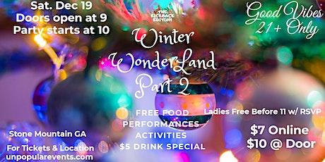 Winter Wonderland Part 2 tickets