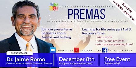 Premas: Dr. Jaime Romo tickets