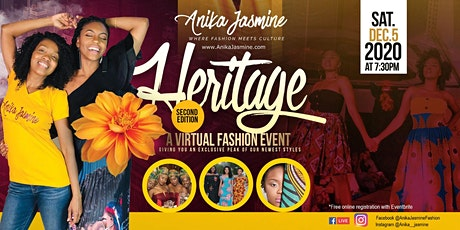 The Heritage: Virtual Fashion Event tickets