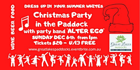 Xmas Party in the Paddock 2020 tickets
