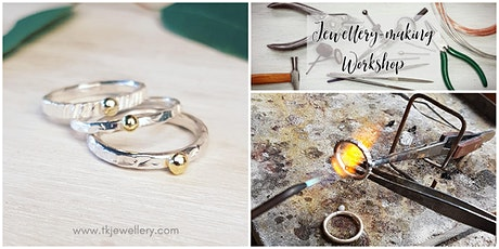 Stacking Rings with Upcycled Gold - Jewellery-Making Workshop tickets