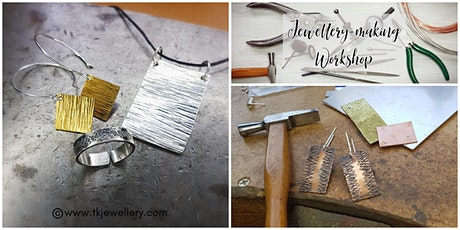 Exploring Precious Metal Textures - Jewellery-making Workshop tickets