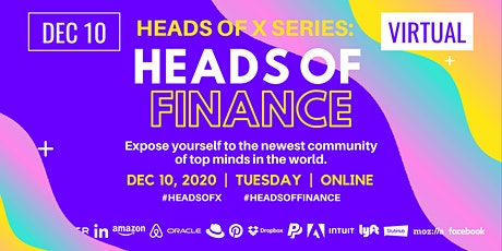 Heads Of X Series: Heads of Finance Conference tickets