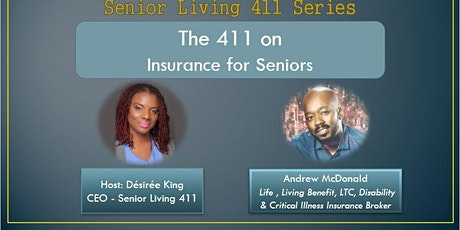 The 411 On Insurance for Seniors tickets