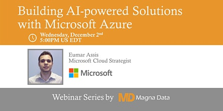 Building AI-powered Solutions with Microsoft Azure [Virtual] tickets