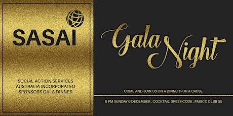 SASAI Sponsors Gala Dinner tickets