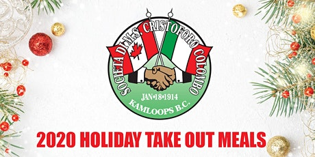 Colombo Lodge - Holiday Take Out Meals - Dec 4th tickets