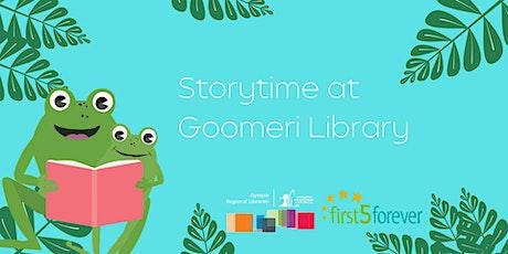 Storytime at Goomeri Library