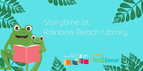 Storytime at Rainbow Beach Library