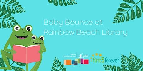 Baby Bounce at Rainbow Beach Library